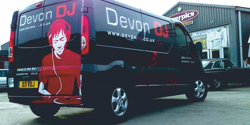 Vinyl Vehicle Graphics & Livery in Newton Abbot, Torquay, Exeter, Plymouth,  Totnes, Paignton, South Devon, South West England